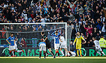 Rangers dejection as Raith Rovers score