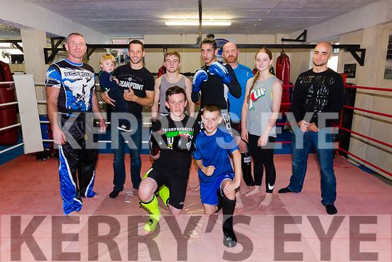 Tralee School of Martial Arts medal winners from the World Championships front Patrick May, Sean Griffin, Back l-r Mike Galvin, Coach, Richie Stack, Jr. Richie Stack, Snr, Dion O'Keeffe, Gino Vacek, Brian Sheehy, Leah Corcoran and JJ Ragca