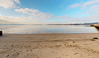 BNPS.co.uk (01202 558833)<br /> Pic: Albury&Hall/BNPS<br /> <br /> Private beach.<br /> <br /> Love Islands ? - Then this idyllic spot in the middle of Poole harbour in Dorset could be the perfect escape.<br /> <br /> 15 acre Round island has been put up for long term rent by its owners for £15,000 a month.<br /> <br /> For that the lucky tenants will get the use of three cottages with space for up to 20 people as well the services of two caretakers who live in another property on the island. <br /> <br /> They provide boat 15 minute boat rides to the mainland at the request of the tenants.<br /> <br /> The nearest shops, restaurants and amenities are three miles away in Poole and the exclusive resort of Sandbanks.
