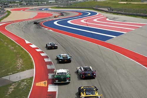 Pirelli World Challenge<br /> Grand Prix of Texas<br /> Circuit of The Americas, Austin, TX USA<br /> Sunday 3 September 2017<br /> Adderly Fong/Vincent Abril Hong ,Ryan Eversley/ Tom Dyer<br /> World Copyright: Richard Dole/LAT Images<br /> ref: Digital Image RD_COTA_PWC_17327