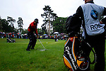 Justin Rose chips onto the 17th hole during the final round of the BMW PGA Championship at Wentworth Club, Surrey, England 27th May 2007 (Photo by Eoin Clarke/NEWSFILE)