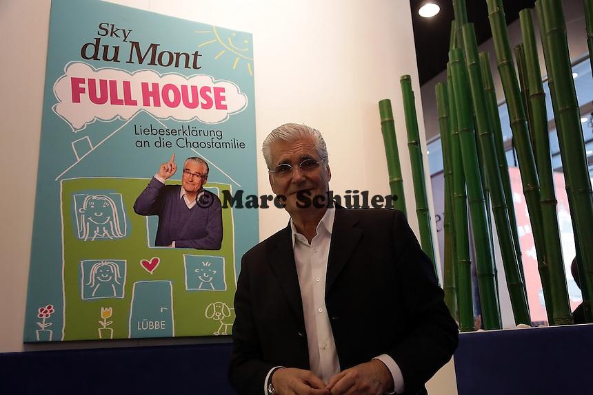 """Sky du Mont stellt sein Buch """"Full House"""" vor"""