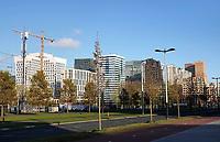 Nederland - Amsterdam -  November2019. Kantoren en appartementen aan de Zuidas.  Foto Berlinda van Dam / Hollandse Hoogte