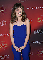 Noel Wells at the 2017 People's &quot;Ones To Watch&quot; event at NeueHouse Hollywood, Los Angeles, USA 04 Oct. 2017<br /> Picture: Paul Smith/Featureflash/SilverHub 0208 004 5359 sales@silverhubmedia.com