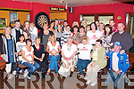 CHARITY NIGHT: The large group that had at the great time the 2D Patient Comfort Fund Leukemia Fund C.U.H. charity night at the Tankard bar Kilfenora on Friday.