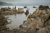 NEW ZEALAND, Wellington, Fisherman outside of Wellington, Ben M Thomas