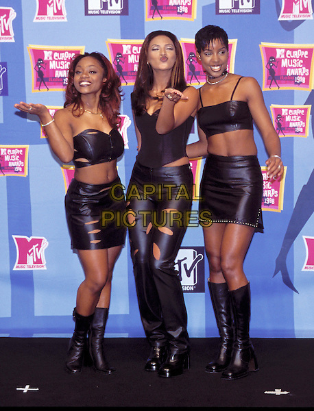 DESTINY'S CHILD.Beyonce Knowles, Kelly Rowland.leather.Ref: 7959.www.capitalpictures.com.sales@capitalpictures.com.© Capital Pictures