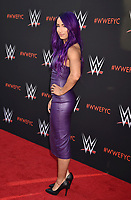 NORTH HOLLYWOOD, CA - JUNE 06: Sasha Banks attends WWE's first-ever Emmy 'For Your Consideration' event at Saban Media Center on June 6, 2018 in North Hollywood, California.<br /> CAP/ROT/TM<br /> &copy;TM/ROT/Capital Pictures
