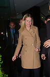Gwyneth Paltrow departs a benefit in Manhattan on October 17, 2001.
