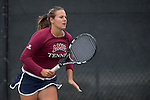 April 22, 2015; San Diego, CA, USA; Loyola Marymount Lions tennis player Julia Norlin during the WCC Tennis Championships at Barnes Tennis Center.