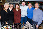 The Heaslip and O&rsquo;Connor family from Connolly Park enjoying their Christmas party in Brogue Inn on Sunday night.<br /> Standing l-r, Liz Heaslip, Peggy O&rsquo;Connor, Ciara and Conor Heaslip, Michael O&rsquo;Connor and Gerard Heaslip.