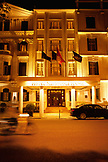 VIETNAM, Hanoi, Sofitel Metropole Hotel, a view of the hotel entrance from across the street