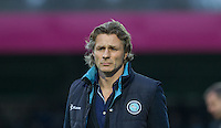 Wycombe Wanderers Manager Gareth Ainsworth during the Sky Bet League 2 match between Wycombe Wanderers and Oxford United at Adams Park, High Wycombe, England on 19 December 2015. Photo by Andy Rowland.