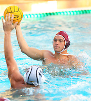 STANFORD, CA - November 26, 2010: Travis Noll in Men's  water polo game, Stanford against UC-Irvine (MPSF Tournament). Stanford won 8-7.