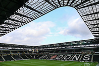 A general view of Stadium:MK<br /> <br /> Photographer Andrew Kearns/CameraSport<br /> <br /> The EFL Sky Bet League One - Milton Keynes Dons v Fleetwood Town - Saturday 11th November 2017 - Stadium MK - Milton Keynes<br /> <br /> World Copyright &copy; 2017 CameraSport. All rights reserved. 43 Linden Ave. Countesthorpe. Leicester. England. LE8 5PG - Tel: +44 (0) 116 277 4147 - admin@camerasport.com - www.camerasport.com