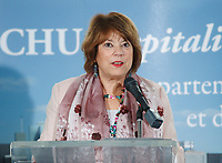FILE PHOTO - <br /> Cultural Affairs Minister Helene David in 2015<br /> <br /> <br /> <br /> MANDATORY CREDIT <br /> PHOTO : Pierre Roussel - Agence Quebec Presse