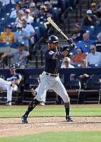 Buddy Reed - San Diego Padres 2019 spring training (Bill Mitchell)
