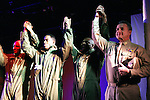 Lamman Rucker and cast in curtain call of Layon Gray's Black Angels Over Tuskegee - The Story of the Tuskegee Airman on February 7, 2010 and continuing. Check it out at www.theblackgents.com (Photo by Sue Coflin/Max Photos)