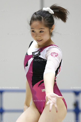 Koko Tsurumi, APRIL 25, 2015 - Artistic Gymnastics : The 69th All Japan Gymnastics Championship Wmen's Individual All-Around Floor at 1st Yoyogi Gymnasium, Tokyo, Japan. (Photo by Sho Tamura/AFLO SPORT) [1180]