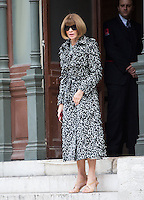 Anna Wintour attend Stella Mccartney Show at the  Paris Fashion Week 2016.<br /> October 5, 2015 Paris, France<br /> Picture: Kristina Afanasyeva