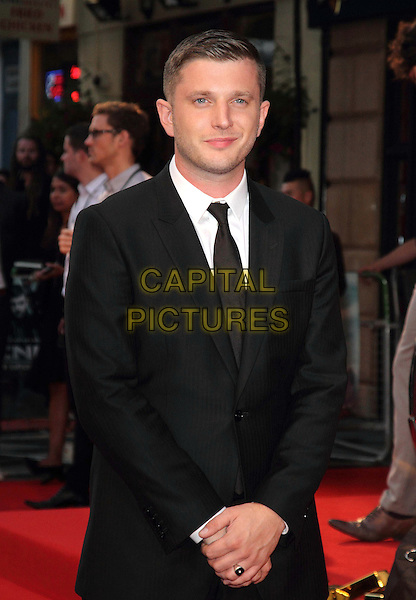 Ben Drew aka Plan B.'The Sweeney' European film premiere, Vue West End cinema, Leicester Square, London, England..September 3rd, 2012.half length suit white shirt black tie suit.CAP/ROS.©Steve Ross/Capital Pictures