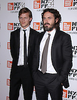 NEW YORK, NY-October 01:Lucas Hedges, Casey Affleck at 54th New York Film Festival screening of Manchesyer by the Sea  at Alice Tully Hall at Lincoln Center in New York. October 01, 2016. Credit:RW/MediaPunch