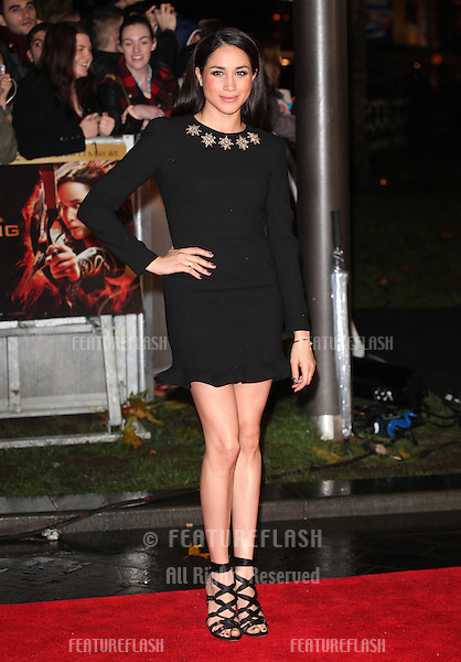 Meghan Markle  arriving for The Hunger Games, Catching Fire World Premiere, London Leicester Square. 11/11/2013 Picture by: Alexandra Glen / Featureflash