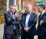 24.04.2019 Rangers MD Stewart Robertson and Peter Lawwell