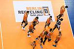 06.05.2018, Max Schmeling Halle, Berlin<br />Volleyball, Bundesliga MŠnner / Maenner, Play-offs, Finale 4. Spiel, Berlin Recycling Volleys vs. VfB Friedrichshafen<br /><br />Berlin enttŠuscht / enttaeuscht / traurig nach Niederlage<br /><br />  Foto &copy; nordphoto / Kurth