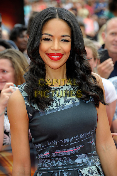 LONDON, ENGLAND - AUG 01: Sarah-Jane Crawford attends the X Factor Wembley Arena auditions at Wembley on August 1, 2014 in London, England. <br /> CAP/CJ<br /> &copy;Chris Joseph/Capital Pictures