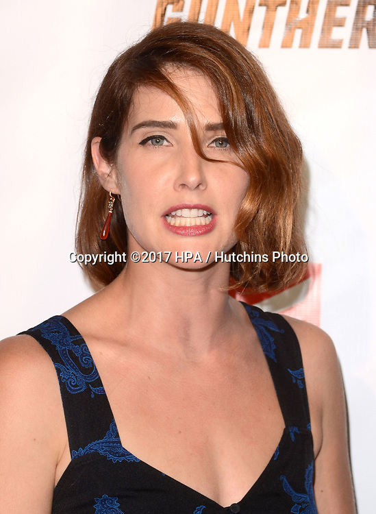 "LOS ANGELES - OCT 14:  Cobie Smulders at the ""Killing Gunther"" Los Angeles Special Screening at the TCL Chinese 6 Theaters on October 14, 2017 in Los Angeles, CA"