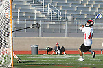 Palos Verdes, CA 04/27/12 - Zack Fixen (Palos Verdes #11) in action during a regular season CIF Boys Lacrosse game between Palos Verdes and visiting Beverly Hills, Palos Verdes defeated the visitors 18-3.