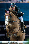 Michael Whitaker of United Kingdom riding Viking competes at the Hong Kong Jockey Club trophy during the Longines Hong Kong Masters 2015 at the AsiaWorld Expo on 13 February 2015 in Hong Kong, China. Photo by Juan Flor / Power Sport Images