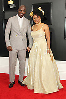 10 February 2019 - Los Angeles, California - LaShawn Lawson, Cedric Burnside. 61st Annual GRAMMY Awards held at Staples Center. Photo Credit: AdMedia