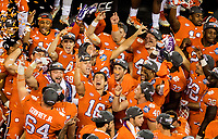 Photography coverage of the 2017 ACC Championship game between the Clemson Tigers and the Miami Hurricanes at Bank of America Stadium in Charlotte, North Carolina.<br /> <br /> Charlotte Photographer - PatrickSchneiderPhoto.com