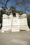 Isambard Kingdom Brunel monument, the Embankment, London