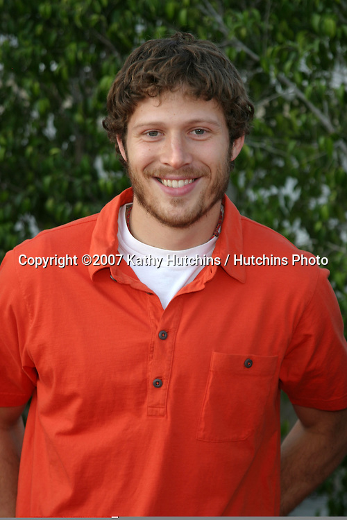 Zach Gilford.NBC TCA Summer Press Tour Party.Beverly Hilton Hotel Parking Structure Rooftop.Beverly Hills, CA.July 17, 2007.©2007 Kathy Hutchins / Hutchins Photo....