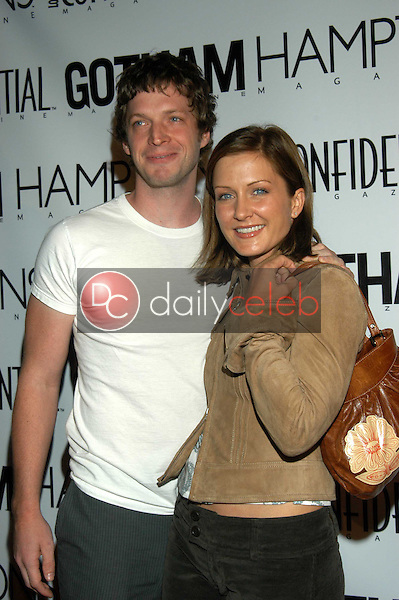 Amy Carlson and Sid