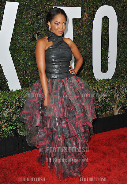 Terry Pheto at the Los Angeles premiere of her movie &quot;Mandela: Long Walk to Freedom&quot; at the Cinerama Dome, Hollywood.<br /> November 11, 2013  Los Angeles, CA<br /> Picture: Paul Smith / Featureflash