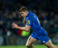 4th January 2020; RDS Arena, Dublin, Leinster, Ireland; Guinness Pro 14 Rugby, Leinster versus Connacht; Garry Ringrose (Leinster) breaks through to score a try - Editorial Use