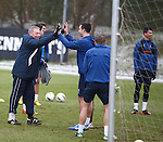 High fives all round for gaffer Ally McCoist