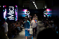 CAPE TOWN, SOUTH AFRICA JULY 2: Models walk for the designer label Funduzi by Craig Jacobs during show at South Africa Menswear week 2015 on July 2, 2015 in Cape Town, South Africa. The second edition of SAMW featured designers from South Africa and around Africa showing spring and summer collections during the 3-day event. (Photo by Per-Anders Pettersson)