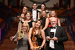 Karen McCourt, Baldoyle Musical Society, County DUBLIN winner of the Best Actress in a Supporting Role / Sullivan Section for her role as 'Gertrude McFuzz' in 'Seussical' pictured with members of her society at the Association of Irish Musical Societies annual awards in the INEC, KIllarney at the weekend.<br /> Photo: Don MacMonagle -macmonagle.com<br /> <br /> <br /> <br /> repro free photo from AIMS<br /> Further Information:<br /> Kate Furlong AIMS PRO kate.furlong84@gmail.com