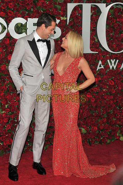 NEW YORK, NY - JUNE 12: Zachary Levi and Jane Krakowski at the 70th Annual Tony Awards at The Beacon Theatre on June 12, 2016 in New York City. <br /> CAP/MPI/JP<br /> &copy;JP/MPI/Capital Pictures