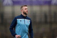 7th March 2020; Somerset Park, Ayr, South Ayrshire, Scotland; Scottish Championship Football, Ayr United versus Dundee FC; Christie Elliott of Dundee during the warm up before the match
