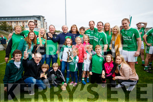 The Boyle Family, Ballyduff after the Senior County Hurling Final in Austin Stack Park on Sunday