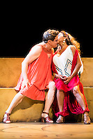 "Pedro Mari Sanchez and Lolita during theater play ""La Asamblea de las Mujeres"" at Teatro La Latina in Madrid. August 23 2016. (ALTERPHOTOS/Borja B.Hojas) /NORTEPHOTO.COM"