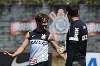 SÃO PAULO,SP, 14.09.2013 TREINO/CORINTHIANS/SP - Alexandre Pato  durante treino do Corinthians no CT Joaquim Grava na zona leste de Sao Paulo. (Foto: Alan Morici /Brazil Photo Press).