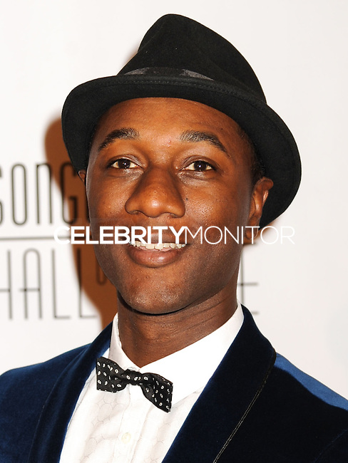 NEW YORK CITY, NY, USA - JUNE 12: Aloe Blacc at the 45th Annual Songwriters Hall Of Fame Induction And Awards Gala held at The New York Marriott Marquis on June 12, 2014 in New York City, New York, United States. (Photo by Celebrity Monitor)