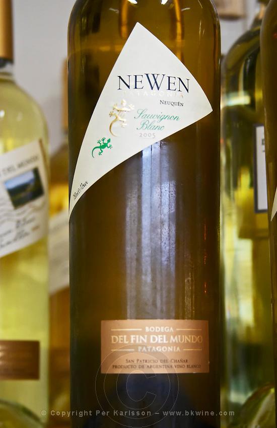 Bottle of Neuquen Sauvignon Blanc Bodega Del Fin Del Mundo - The End of the World - Neuquen, Patagonia, Argentina, South America